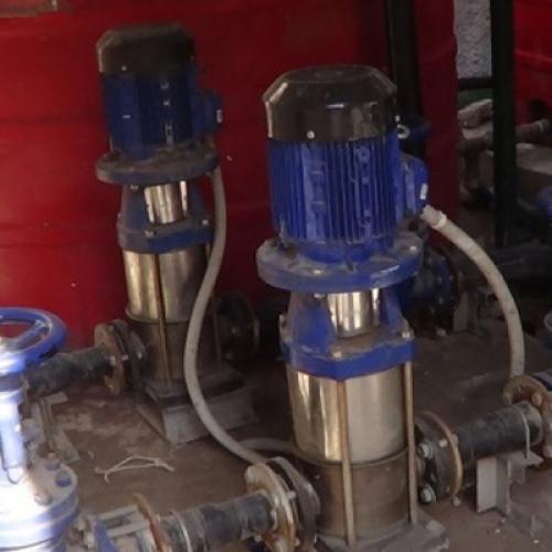 Su Temini Kampanyası (Su arıtma istasyonu tamiri ve işletmesi)